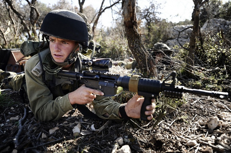 Soldiers of the Reconnaissance Battalion of the Israel Defense Forces' Nachal Brigade. Wikimedia Commons/IDF