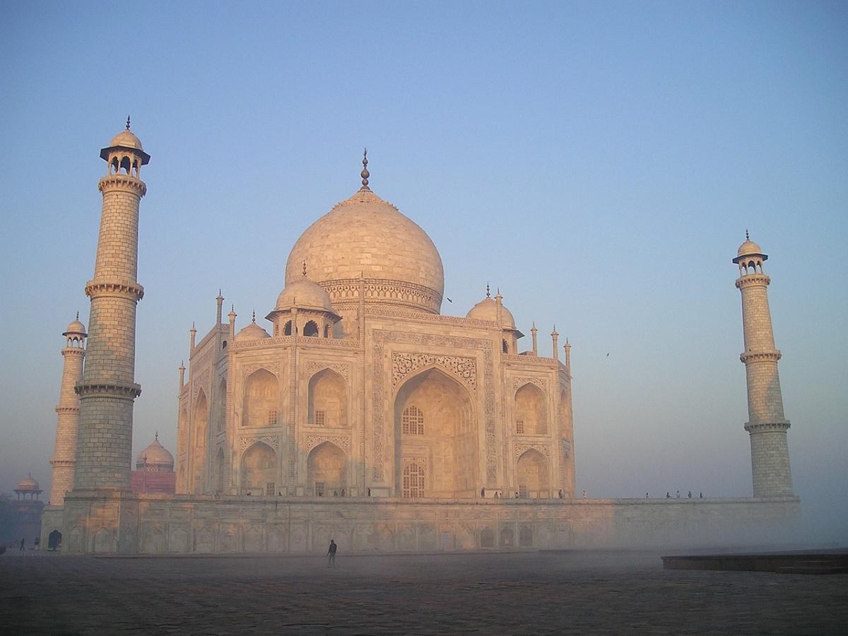 Taj Mahal in Agra, India. Pixabay/Public domain