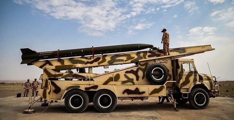 Iranian-made Naze'at missile. Wikimedia Commons/Creative Commons/Hamed Malekpour