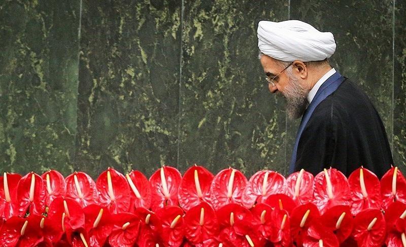 Hassan Rouhani at Iran's 10th parliament inaugural celebration. Wikimedia Commons/Creative Commons/Mahmoud Hosseini