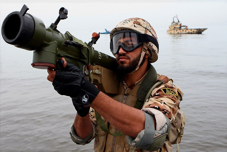 Iranian commandos and missile boats in the Great Prophet IX exercise. Wikimedia Commons/Shahab-o-din Vajedi