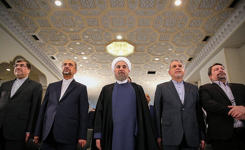Hassan Rouhani at the opening of the Media Fair in Tehran. Wikimedia Commons/Creative Commons/Hamed Malekpour