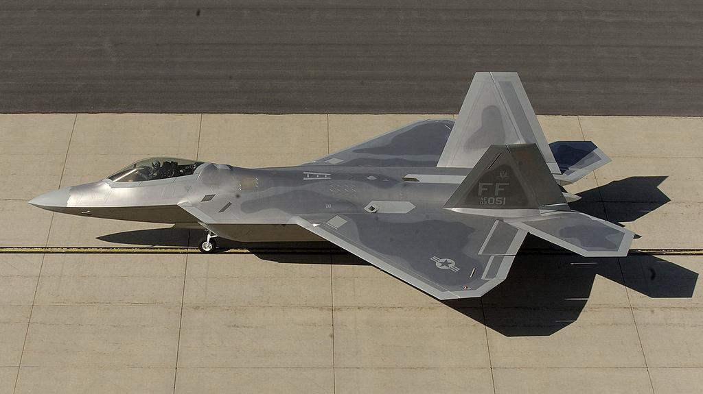 F/A-22 Raptor. Wikimedia Commons/Creative Commons/U.S. Air Force