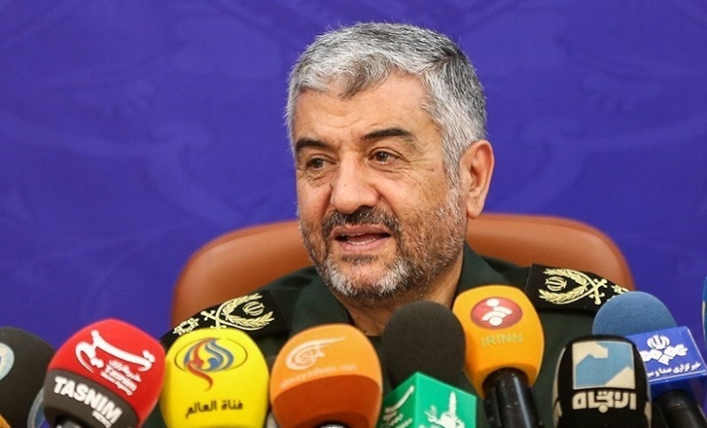 IRGC commander-in-chief Mohammad Ali Jafari. Wikimedia Commons/Siamak Ebrahimi
