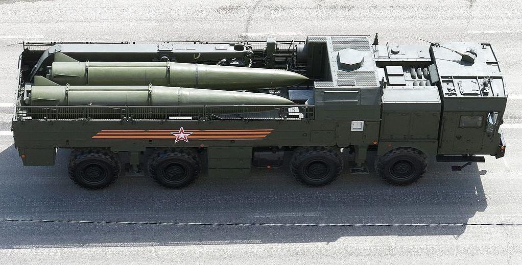9T250-1 Transport Loader for Iskander-M system. Wikimedia Commons/@Boevaya mashina