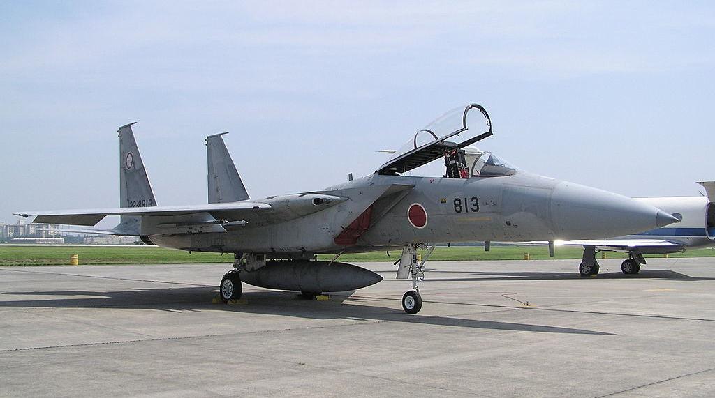 A Japanese F-15J at Yokota Air Base. Wikimedia Commons/Creative Commons/@Morio