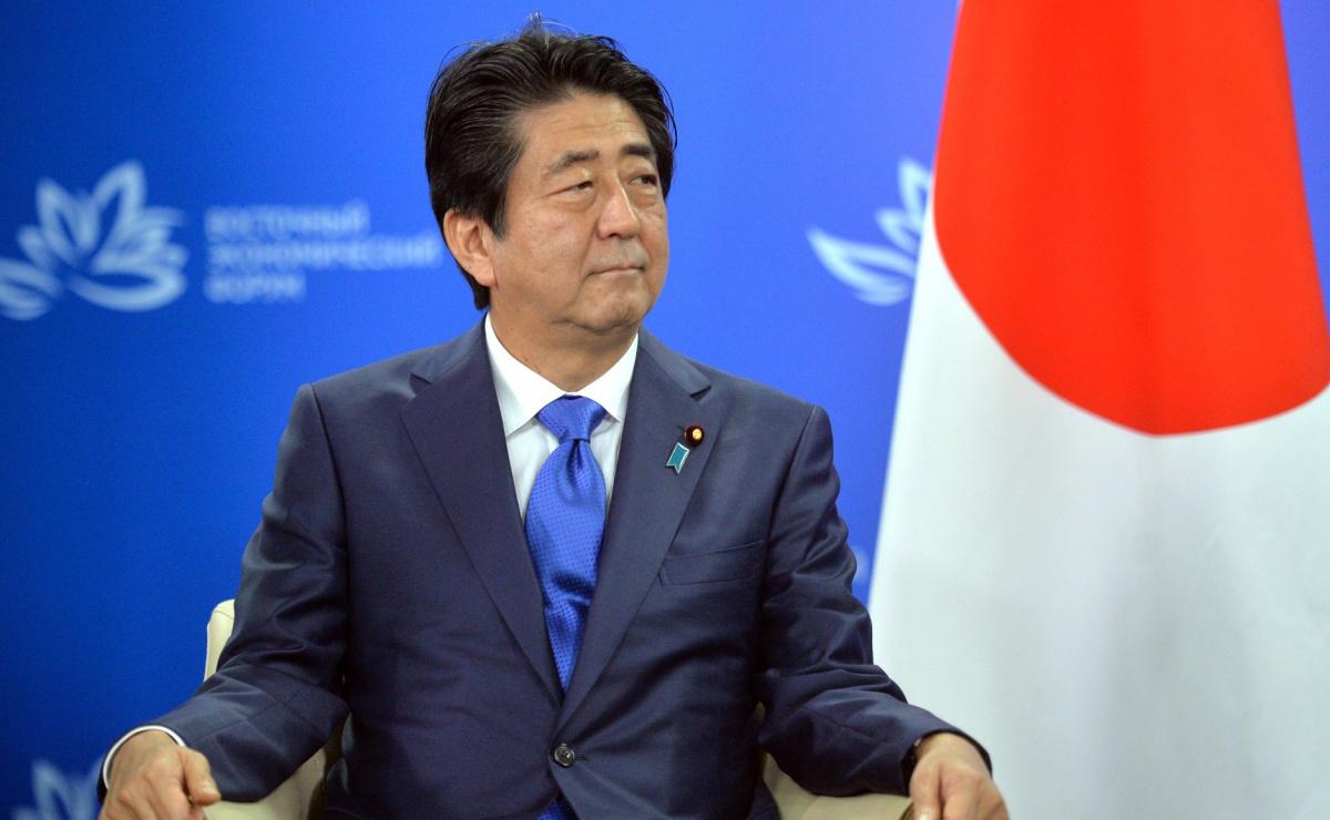 Prime Minister of Japan Shinzo Abe. Kremlin.ru