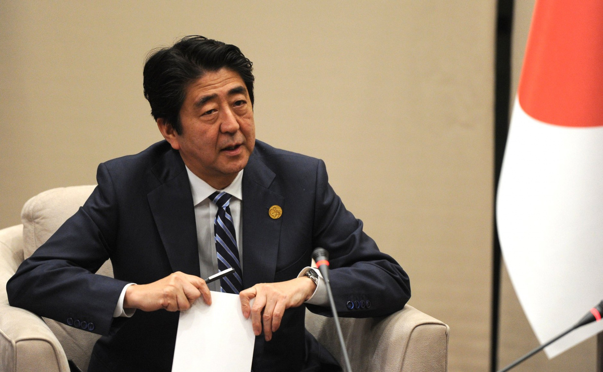 Prime Minister of Japan Shinzo Abe. Kremlin.ru