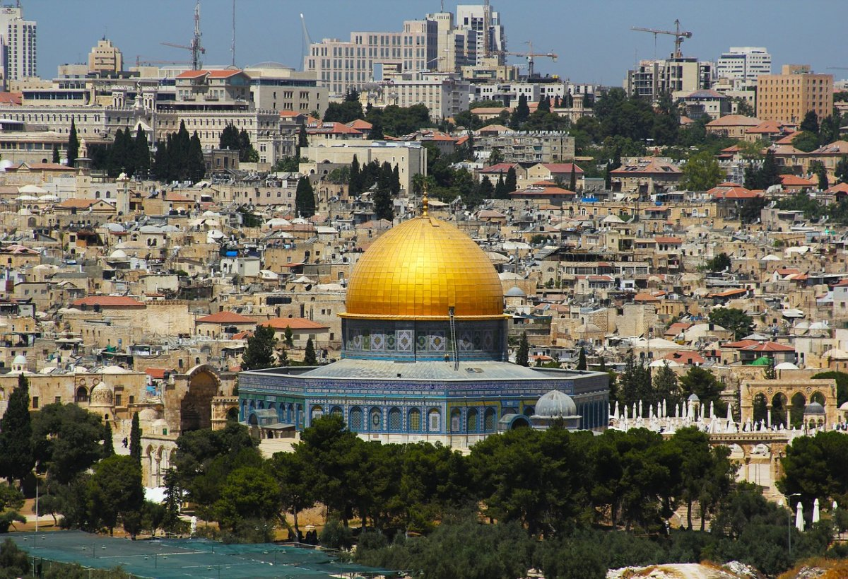 The Dome of the Rock and East Jerusalem. Pixabay/Public domain