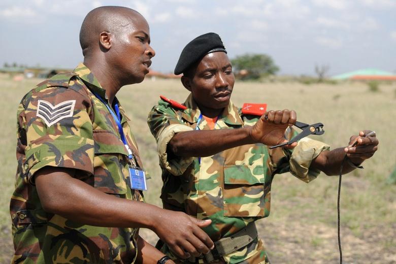 Counter-IED training in Nairobi, Kenya. Flickr/U.S. Army Africa