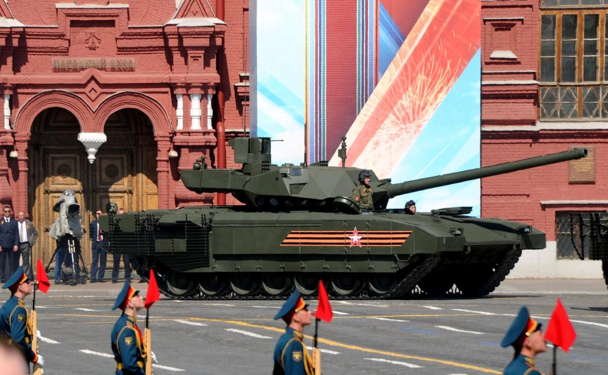 Armata tank in a 2016 Victory Day parade. Kremlin.ru