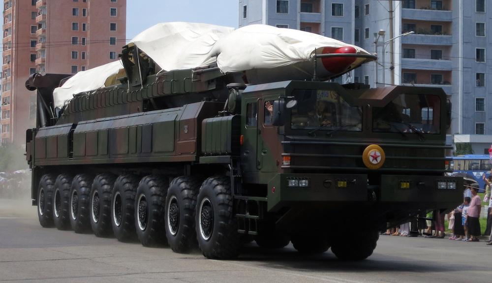 North Korean missile platform. Flickr/Creative Commons/Stefan Krasowski