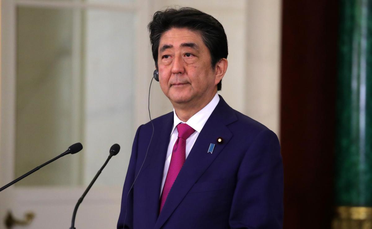 Prime Minister of Japan Shinzo Abe at the Kremlin, 2017. Kremlin.ru