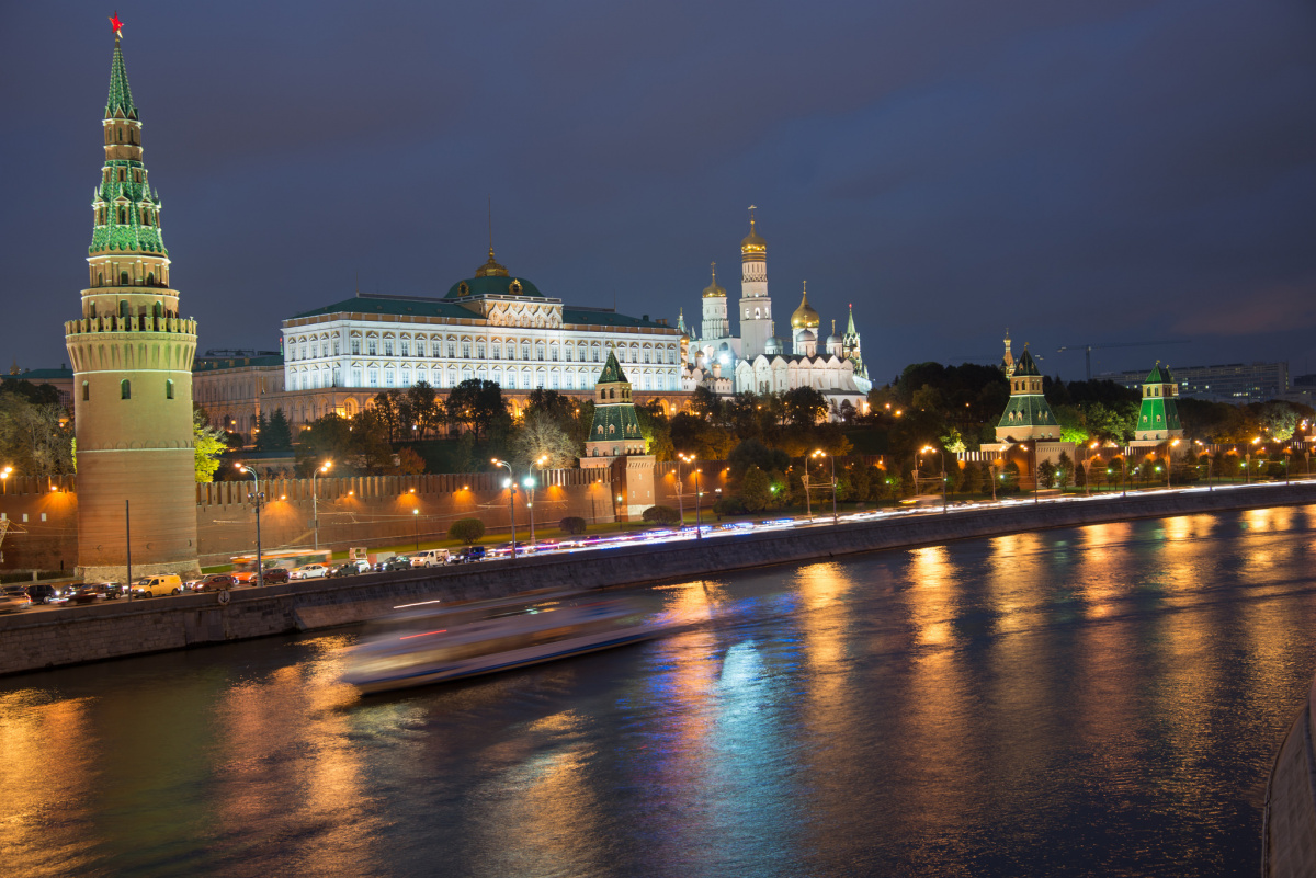 The Moscow Kremlin. Flickr/Creative Commons/Jorge Láscar