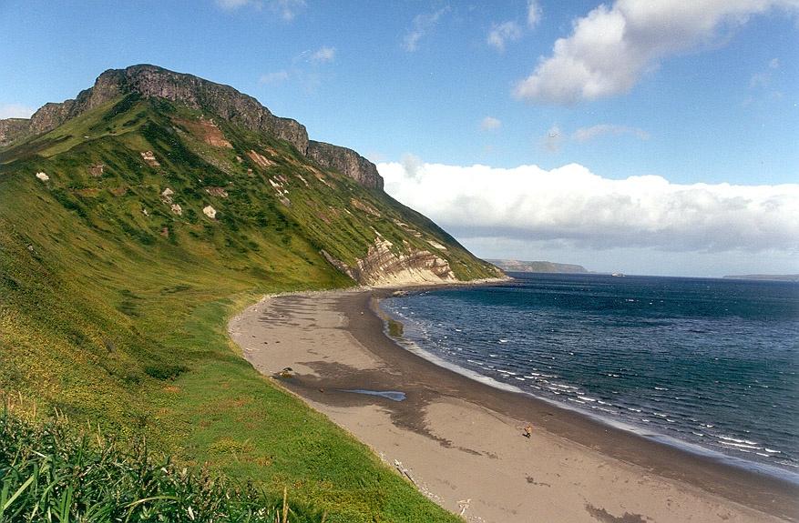 Island in the Kuril Archipelago. Wikimedia Commons/Public domain