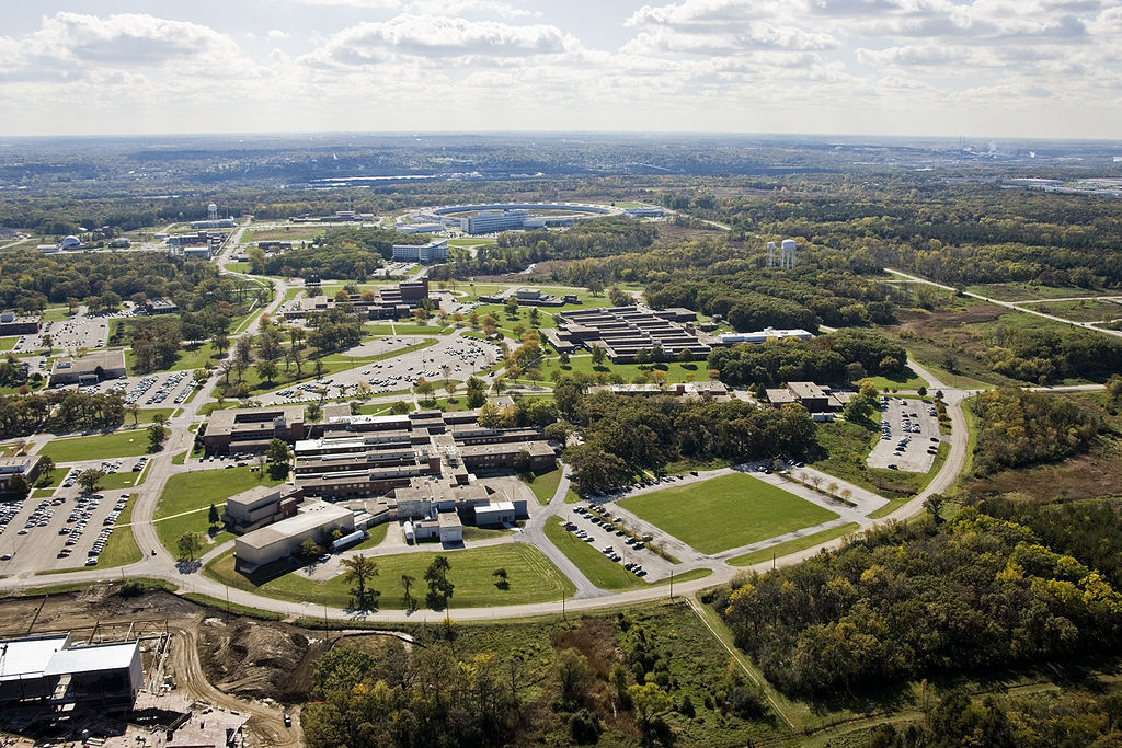 Argonne National Laboratory, Argonne, Illinois. Wikimedia Commons/Creative Commons/John Hill for Argonne National Laboratory
