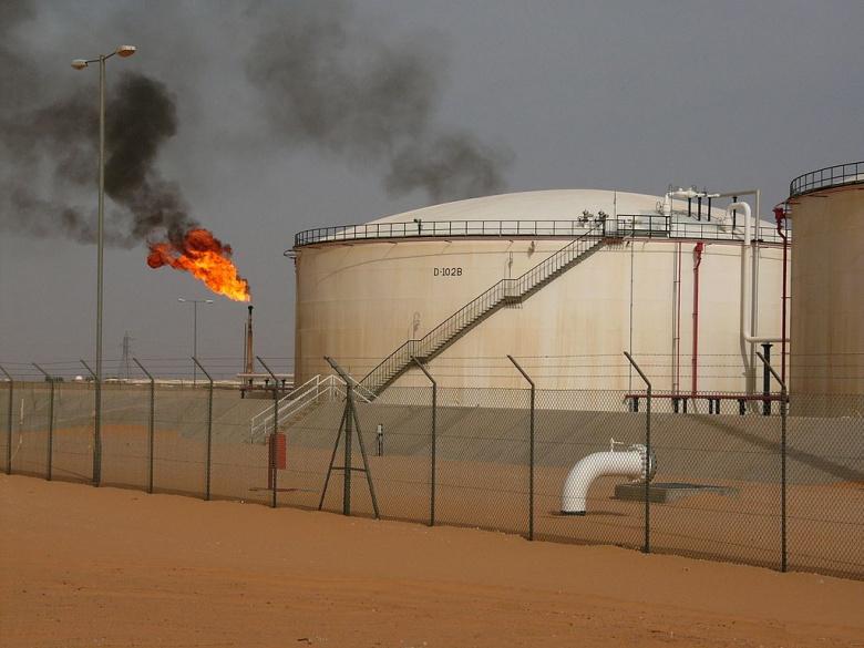 El Sharara oil field in Libya. Wikimedia Commons/Javier Blas