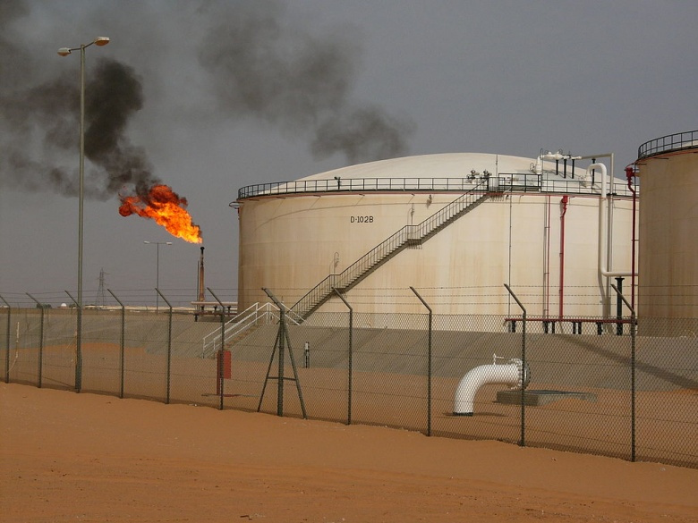 El Sharara oil field in Libya. Wikimedia Commons/Javier Blas