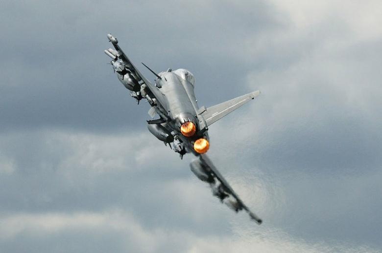 Eurofighter Typhoon. Wikimedia Commons/Vladimir Korolkov/Public domain