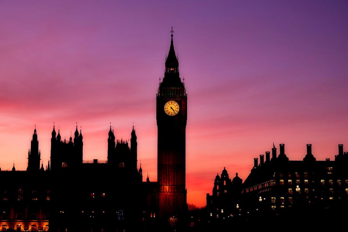 Big Ben at night. Pixabay/Public domain