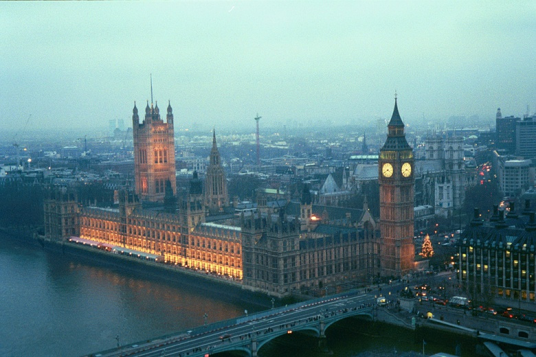 The Houses of Parliament from the London Eye. Flickr/Chris Yunker