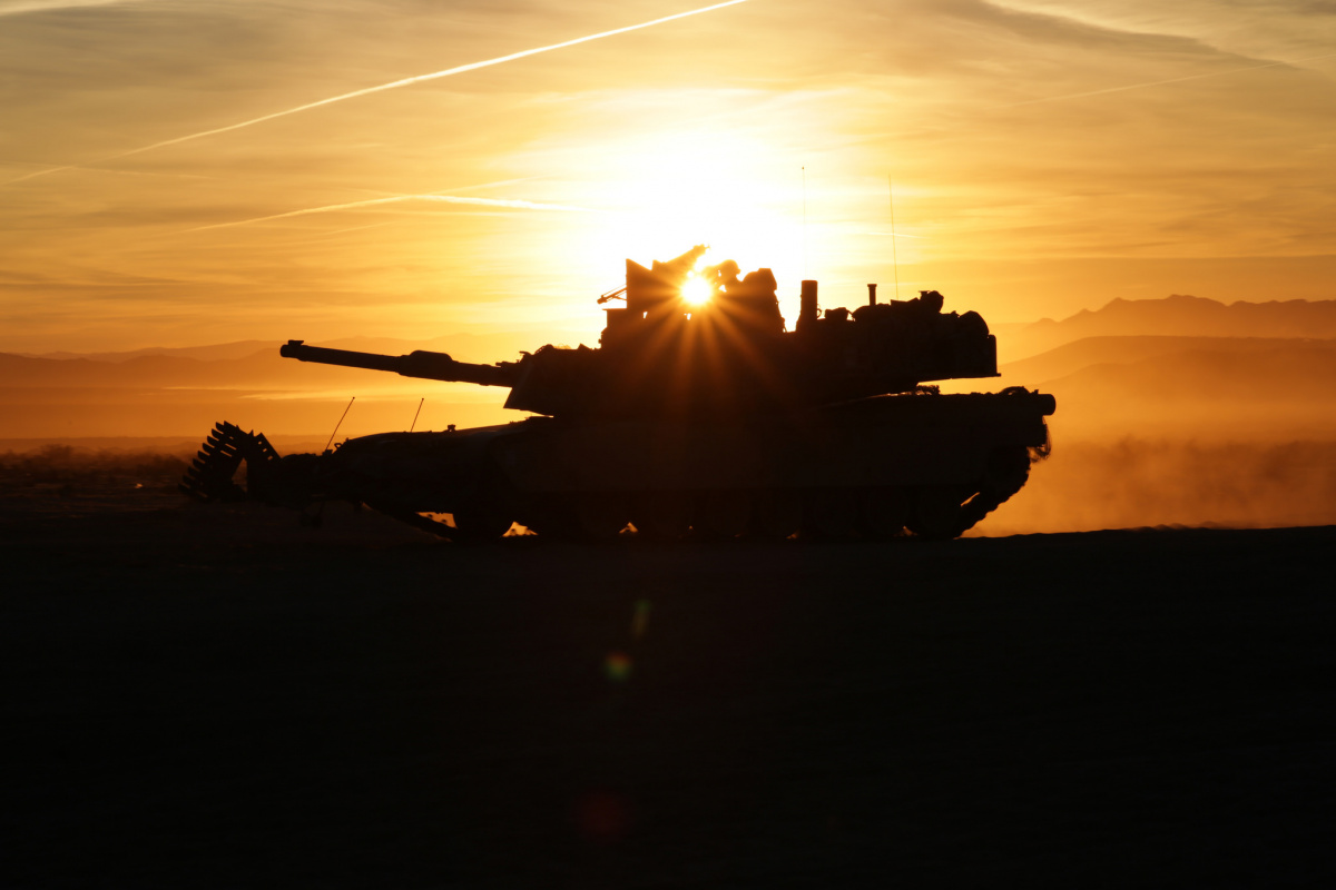 M1A2 Abrams tank during training. Flickr/U.S. Army