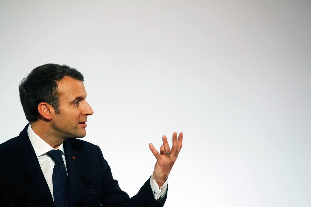 French President Macron sticks by plan for compulsory national service