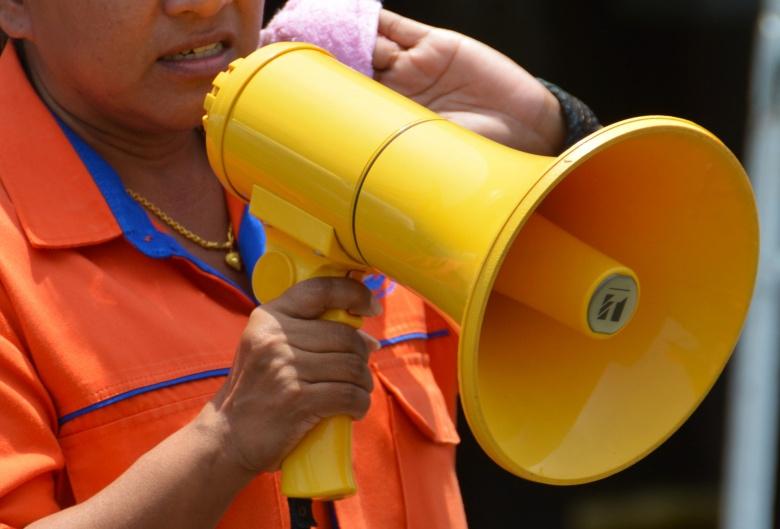 Image: A man with a megaphone. tarimakasih0/pixabay. Public domain.