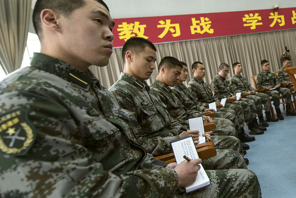 People's Liberation Army cadets meet with U.S. Army Gen. Martin E. Dempsey. Wikimedia Commons/Public domain