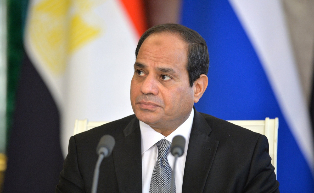 Abdel Fattah el-Sisi of Egypt. Kremlin.ru