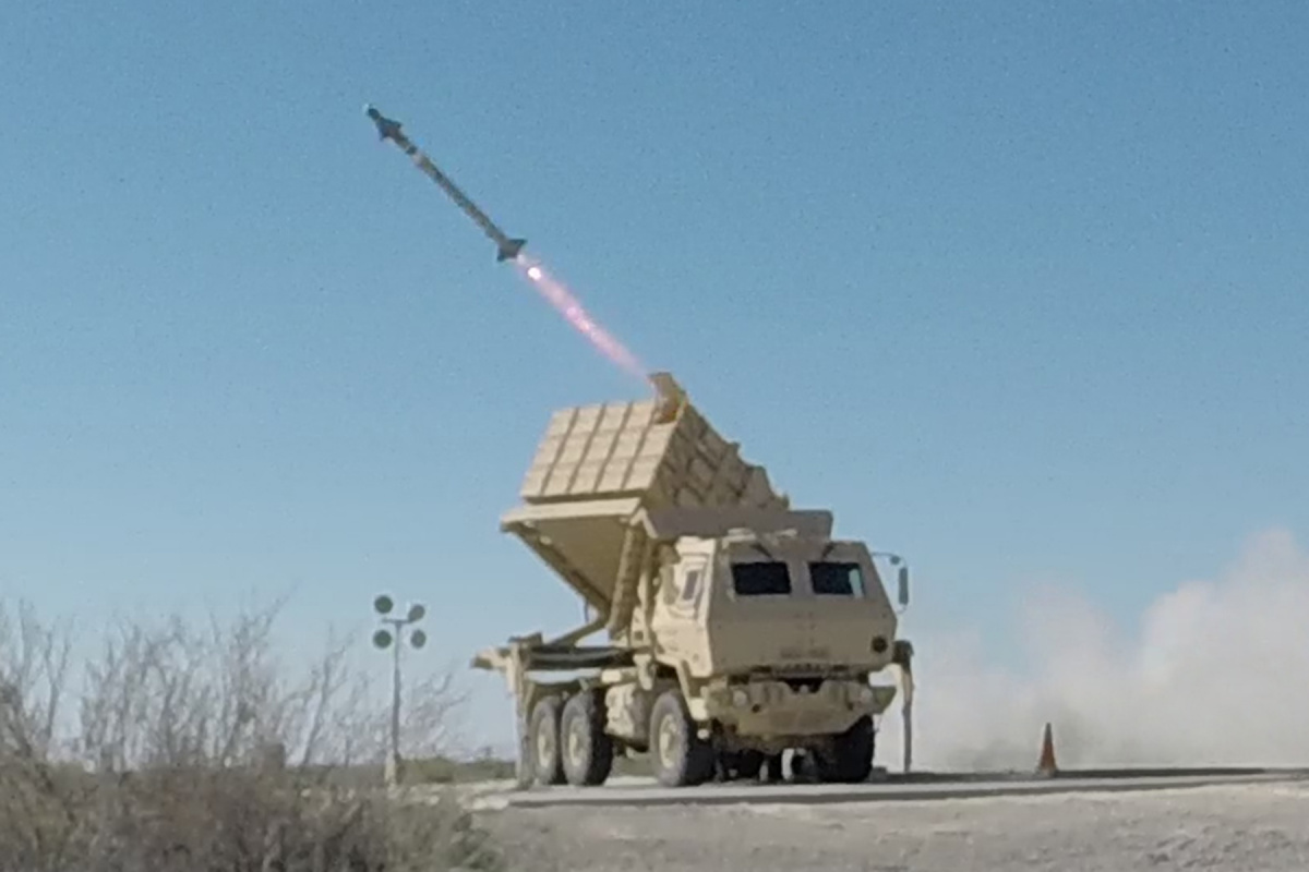 The U S Army S New Missile Launcher Has A Super Game