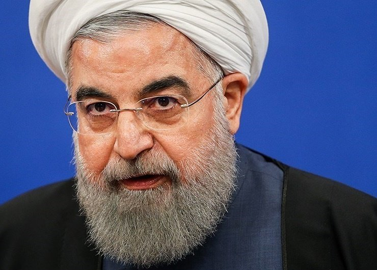 Iranian president Hassan Rouhani in April 2017. Wikimedia Commons/Creative Commons/Hamed Malekpour