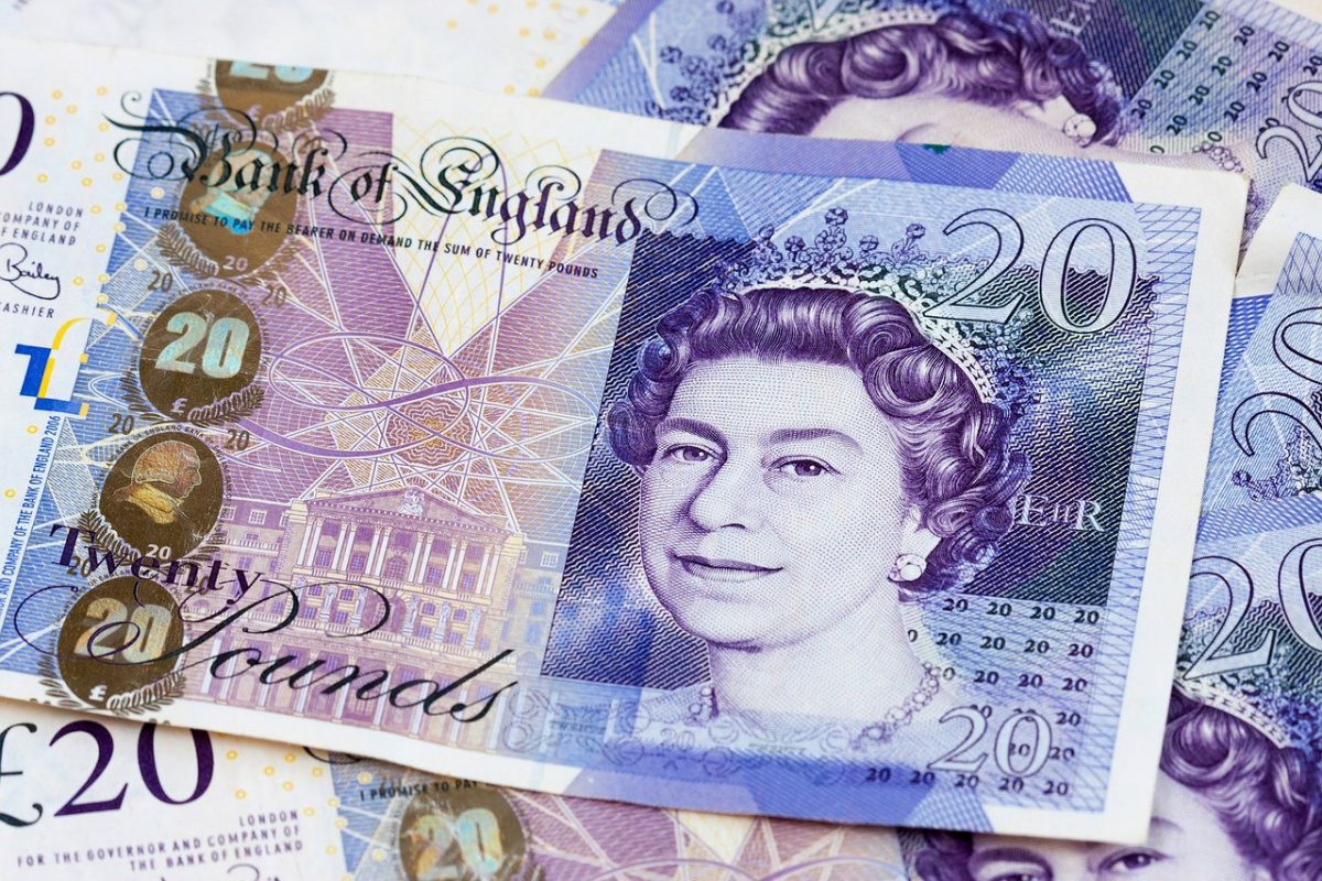 British twenty-pound notes. Pixabay/Public domain