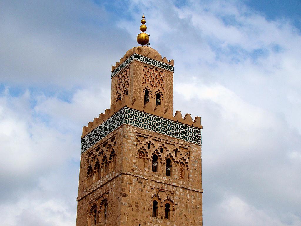 Koutoubia minaret, Marrakech. Wikimedia Commons/Creative Commons/Bjørn Christian Tørrissen