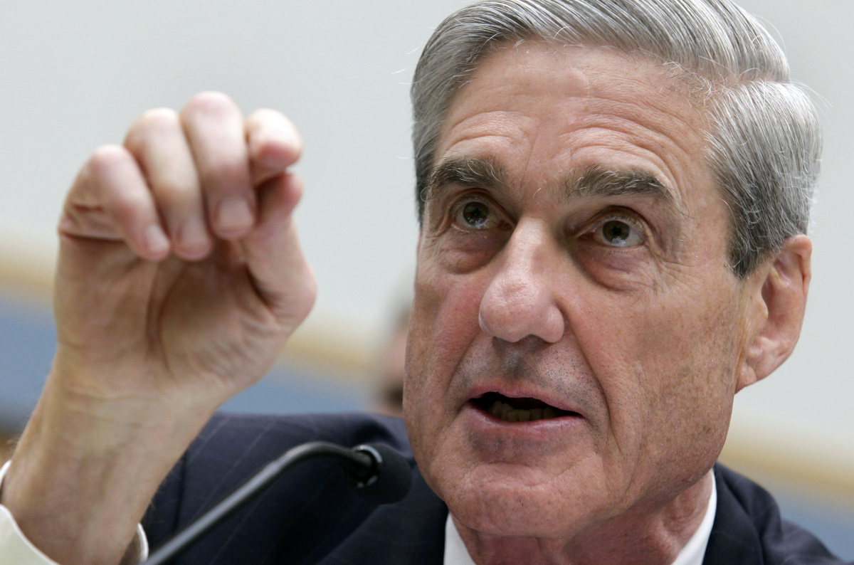 Robert Mueller testifies before the House Judiciary Committee hearing on Federal Bureau of Investigation oversight on Capitol Hill in Washington