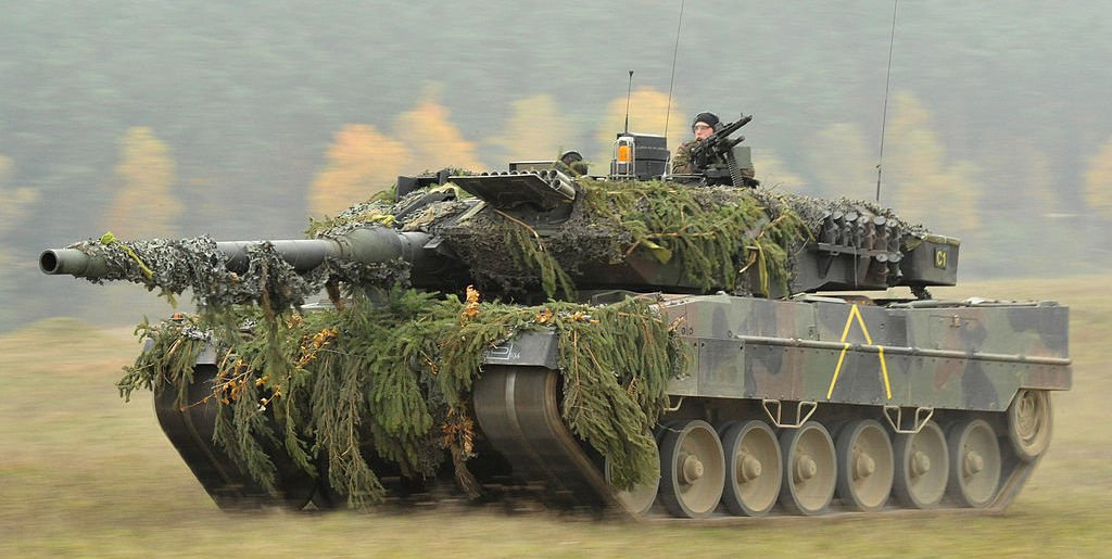 A German Army Leopard 2 tank during Saber Junction 2012. Wikimedia Commons/U.S. Army Europe