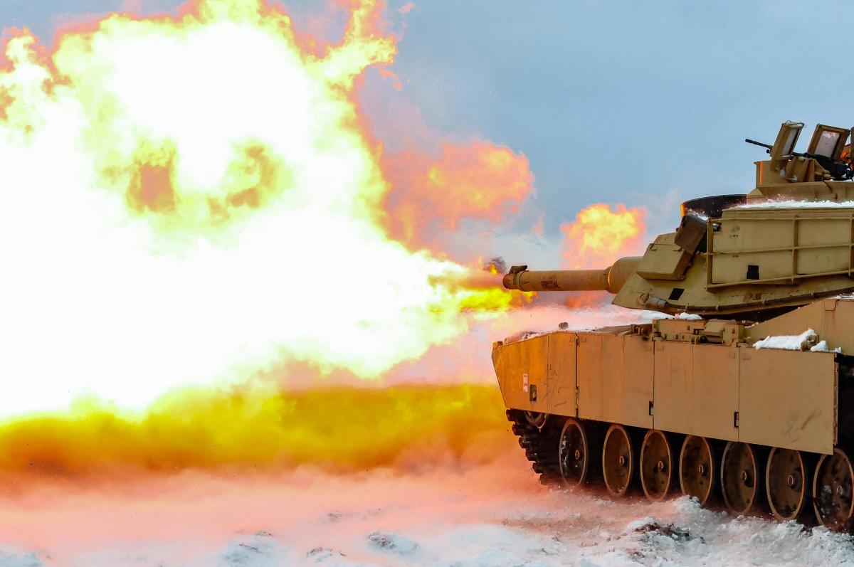 U.S. Army live-fire test in in Swietozow, Poland, January 16, 2017. Flickr/U.S. Army Europe