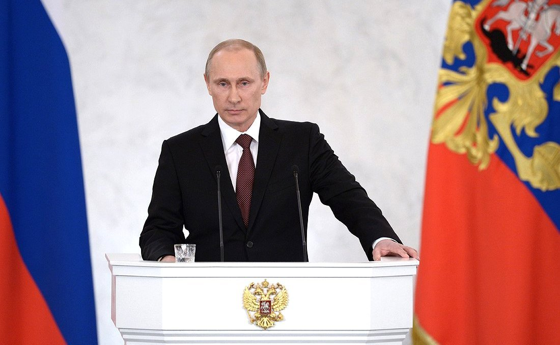 March 2014 address by Vladimir Putin. Kremlin.ru