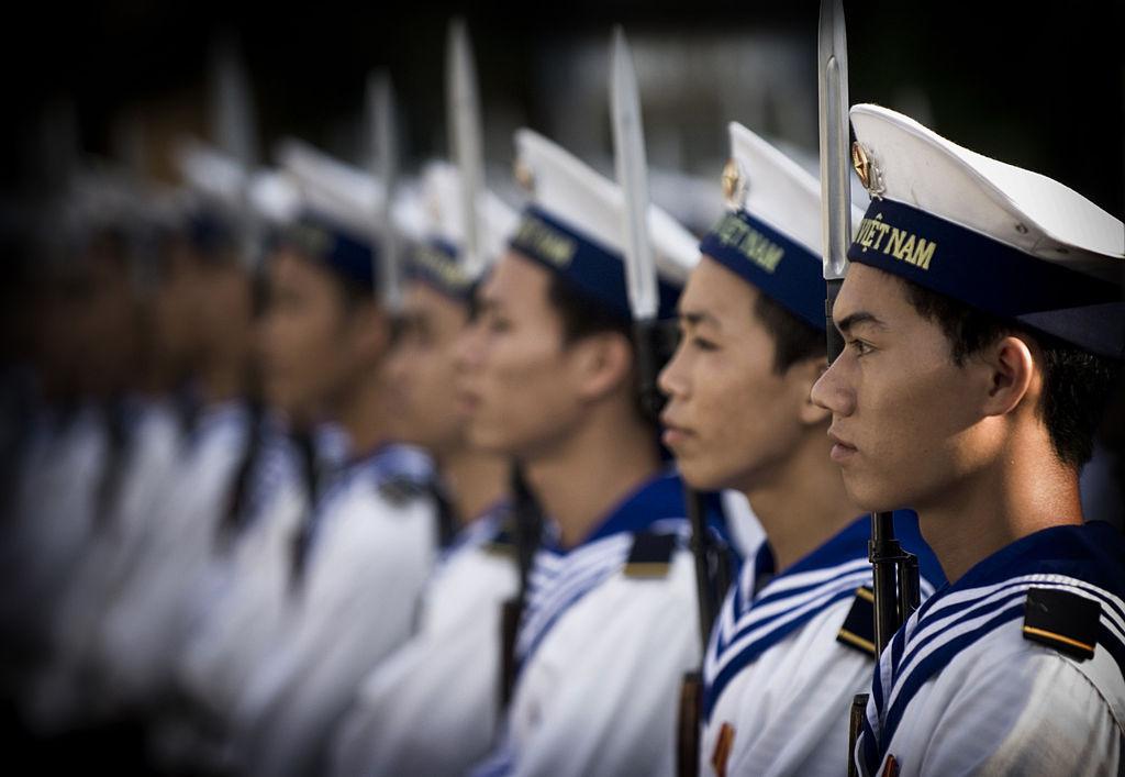Vietnamese People's Navy sailors. Wikimedia Commons/U.S. Navy