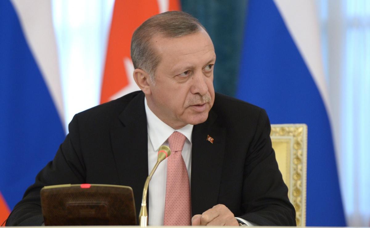 Recep Tayyip Erdoğan in August 2016. Kremlin.ru