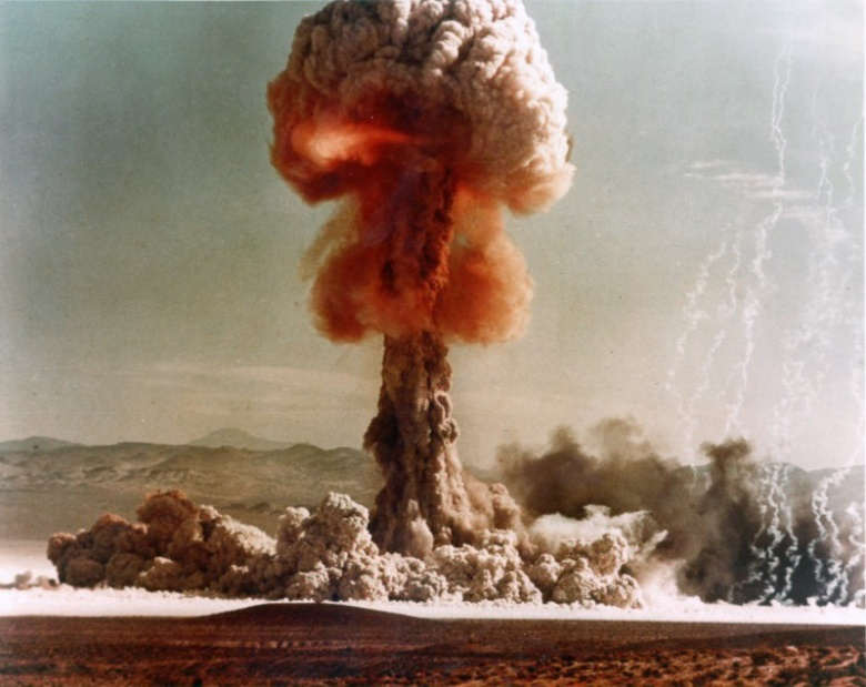 Upshot-Knothole Grable nuclear test. Wikimedia Commons/Public domain