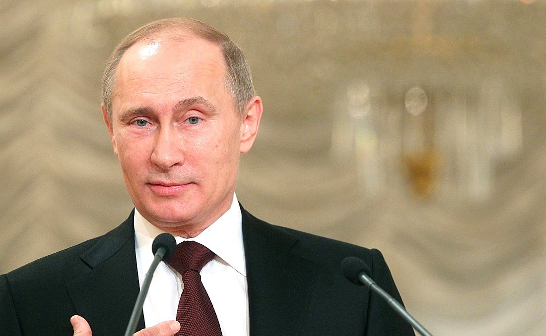 Vladimir Putin addresses the Russian Congress of Parents. Kremlin.ru
