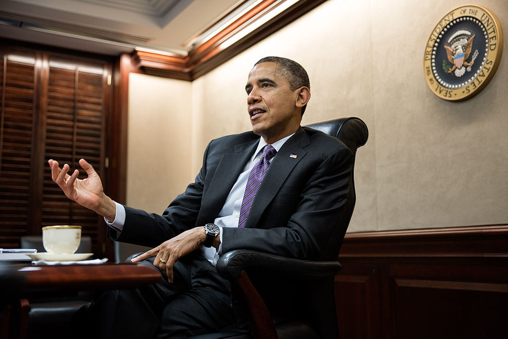 President Barack Obama holds a meeting in the Situation Room. Wikimedia Commons/The White House