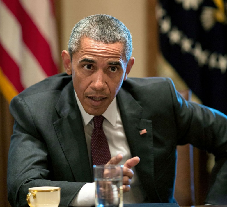 Image: President Barack Obama in a meeting at the White House. White House photo (Pete Souza), public domain.