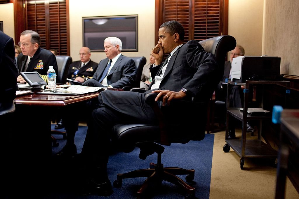 President Barack Obama listens during a terrorism threat briefing in the Situation Room of the White House. Wikimedia Commons/The White House