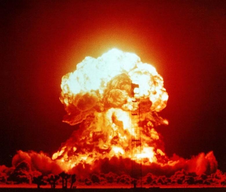 Image: Operation Upshot-Knothole, Badger explosion. Public domain.
