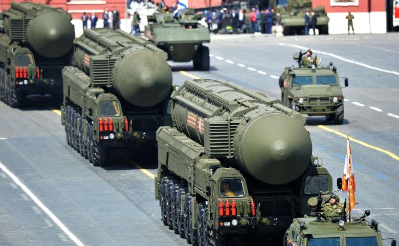 RS-24 intercontinental ballistic missiles. Kremlin photo.
