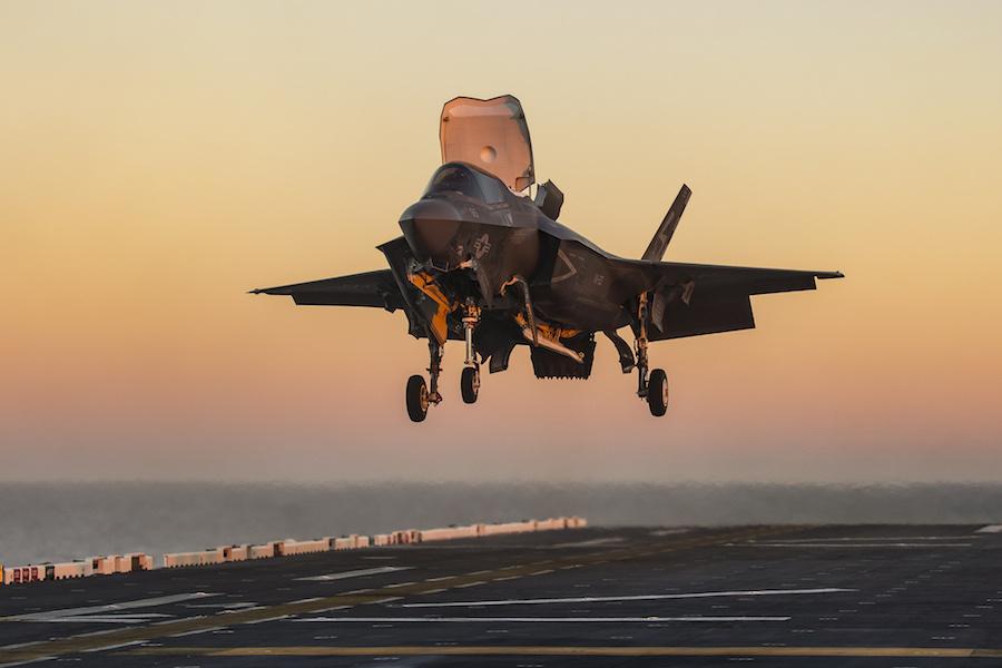 F-35B aboard USS America. Flickr/Lockheed Martin