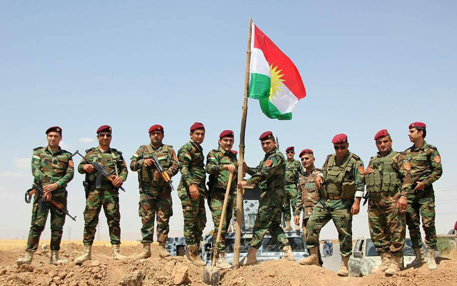 Peshmerga fighters. Wikimedia Commons/Creative Commons/@Erfan.Kurdi