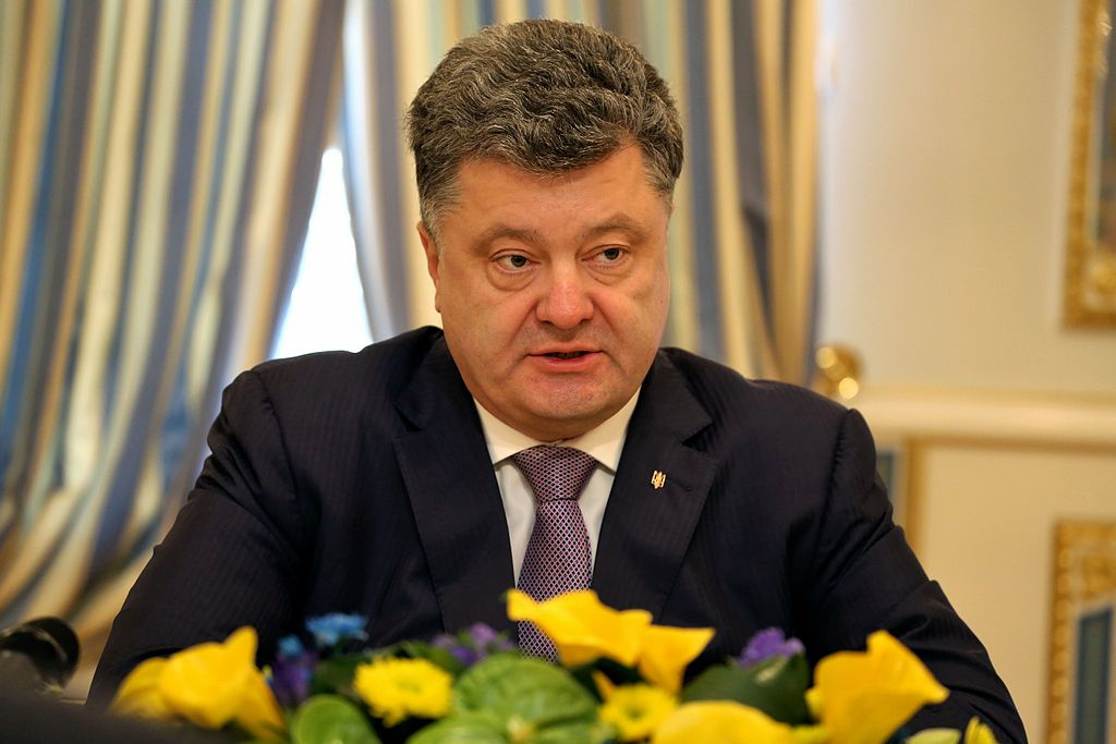 President of Ukraine Petro Poroshenko. Wikimedia Commons/Creative Commons/Senate of Poland